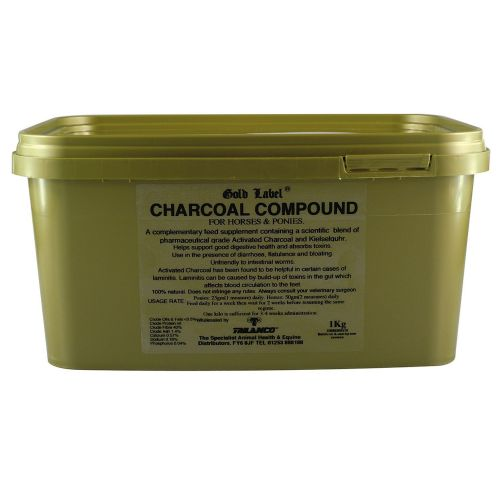 Gold Label - Charcoal Compound - 1kg